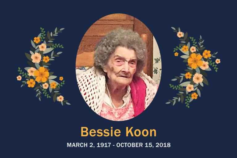 Obituary Koon