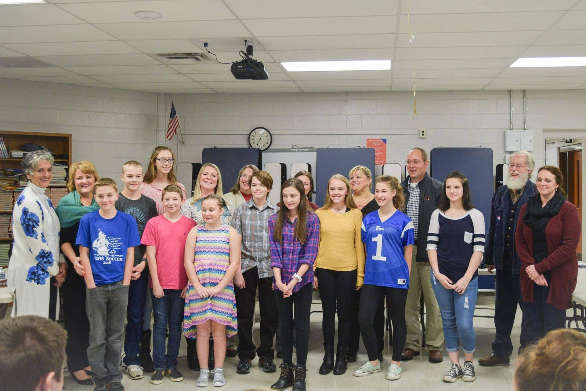 The only middle school, high school WVAEA Teachers of the Year are from Upshur County