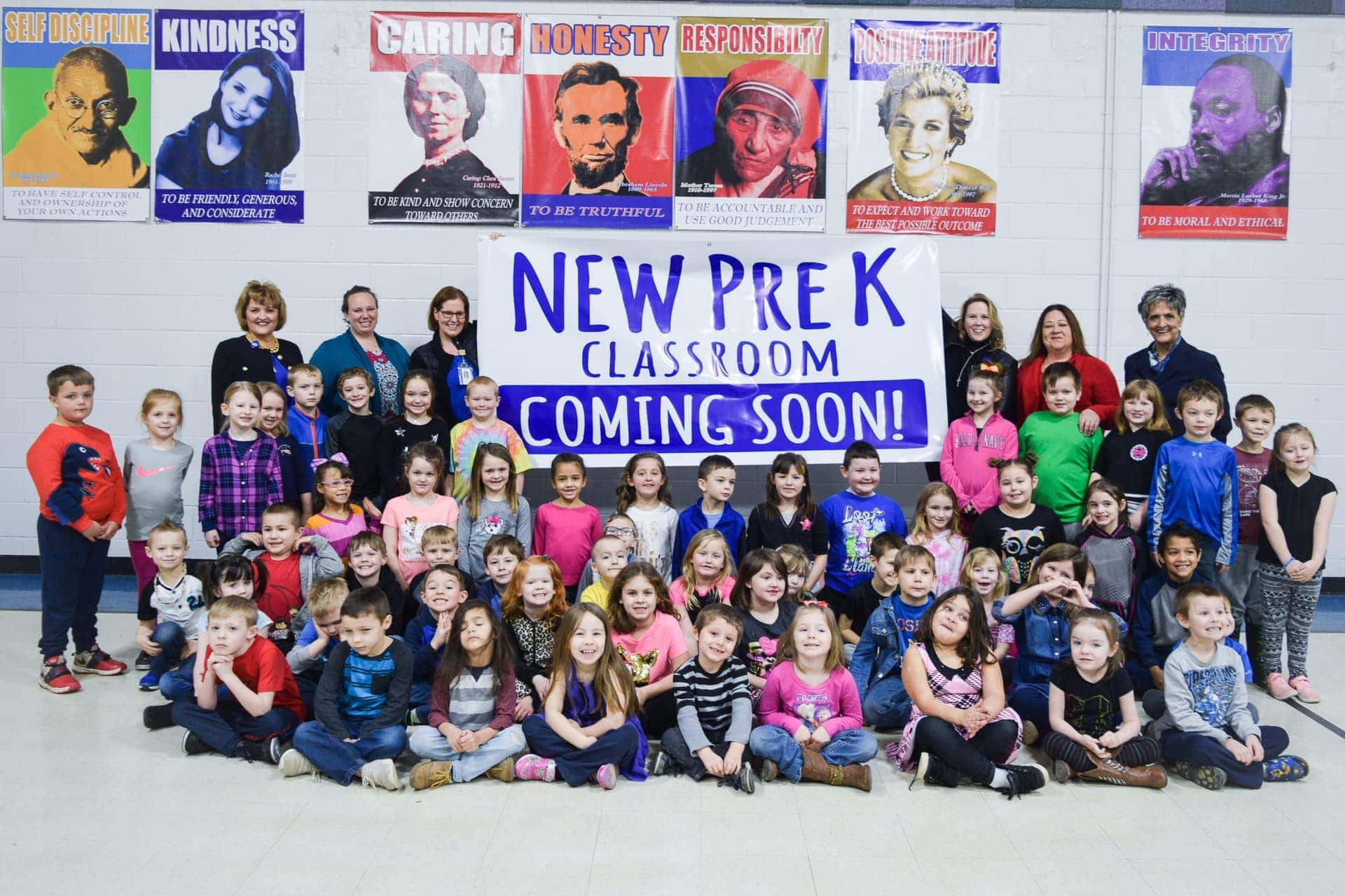 Upshur County Schools adds five new pre-K classrooms to its roster