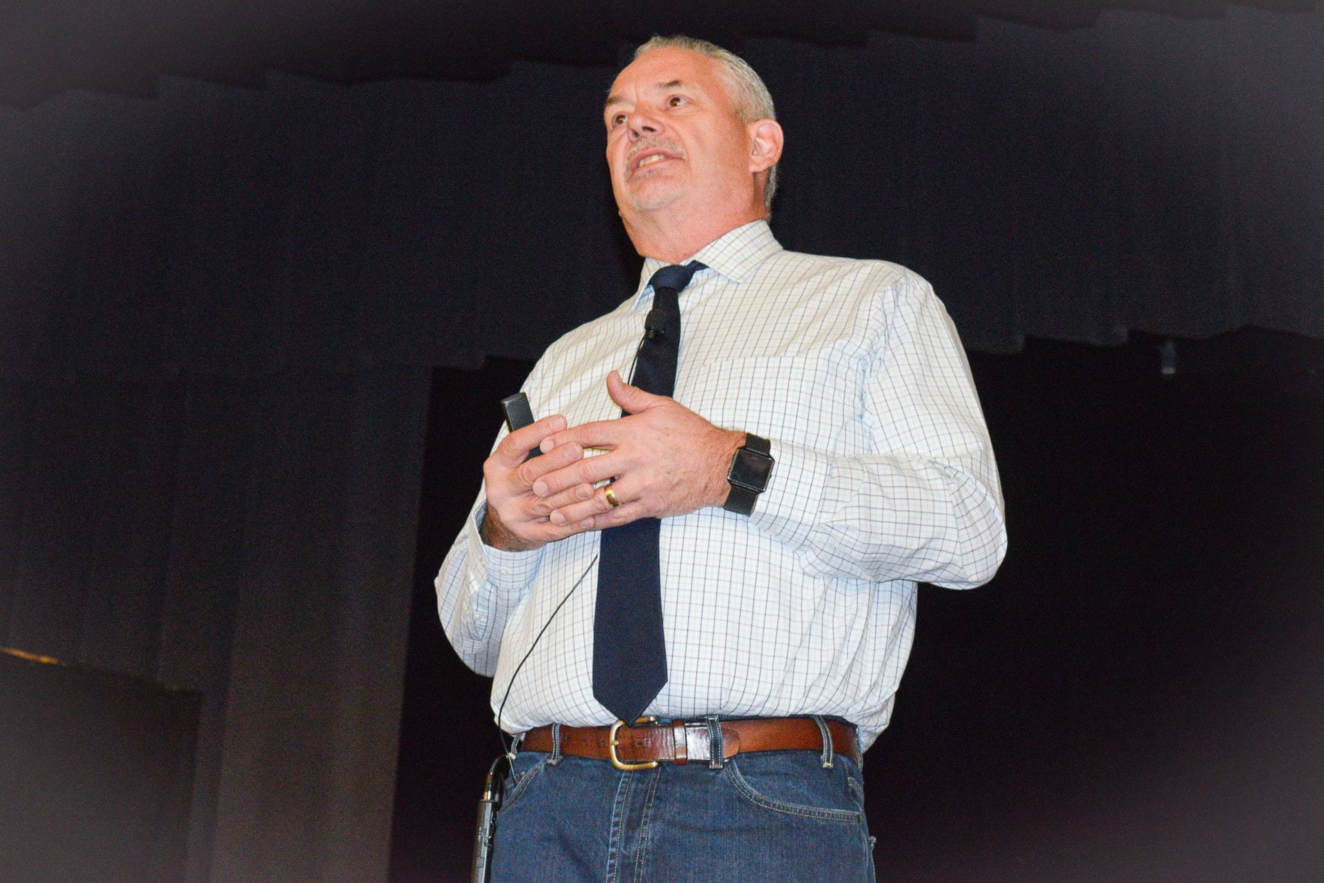 Nationally acclaimed speaker teaches school employees about the impact of trauma on learning