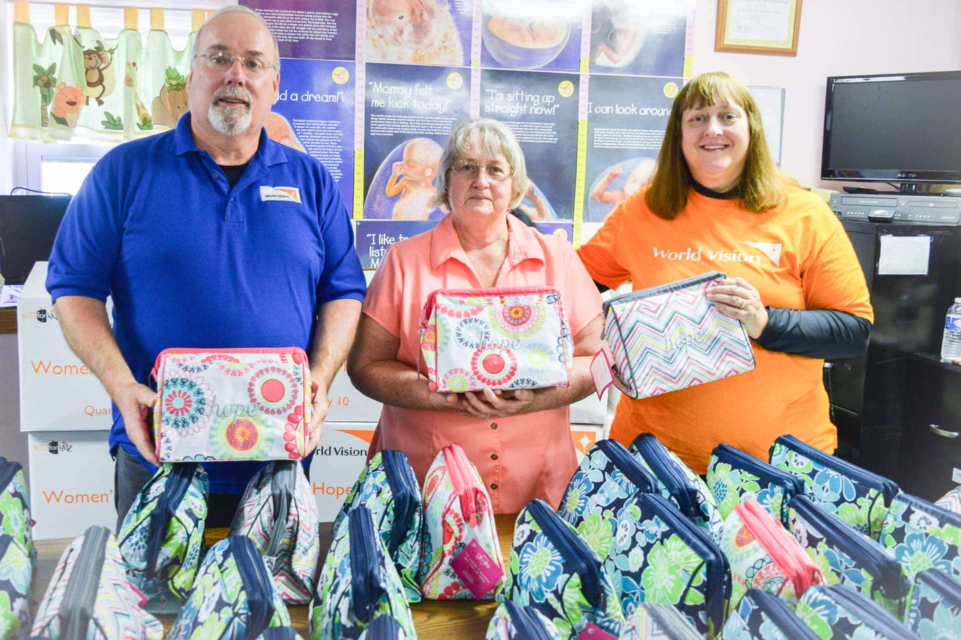 Central W.Va. Center for Pregnancy Care supplies 'Bags of Hope' to mothers in transition