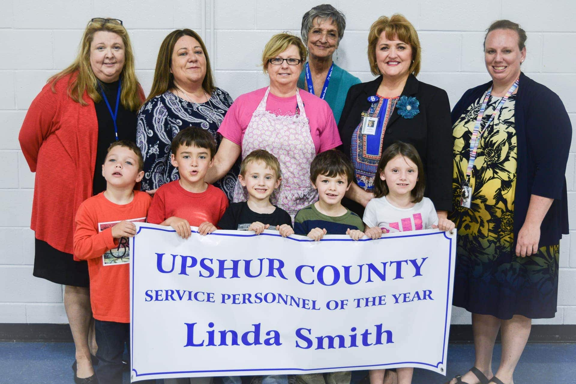 Linda Smith named Upshur County Schools Service Personnel of the Year