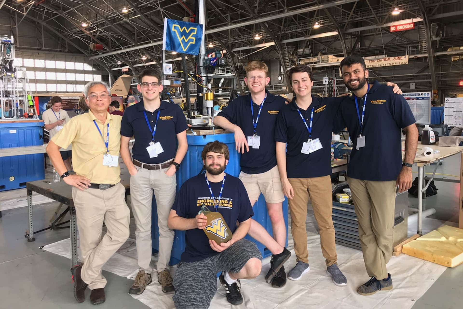 WVU robotics team on top again, wins second NASA competition in 3 years