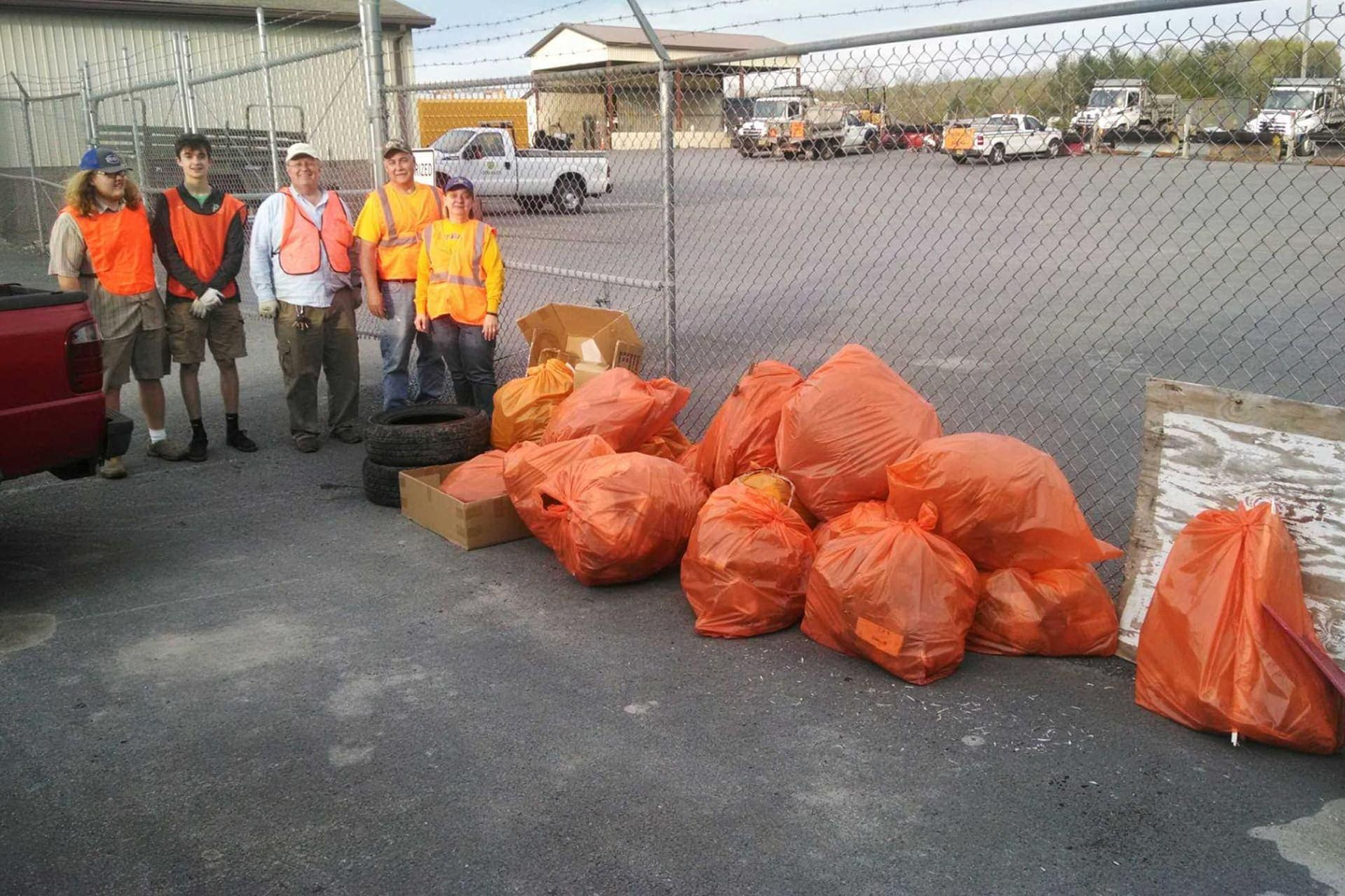 WVDEP and volunteer groups removed more than 590,000 pounds of litter during spring cleanups