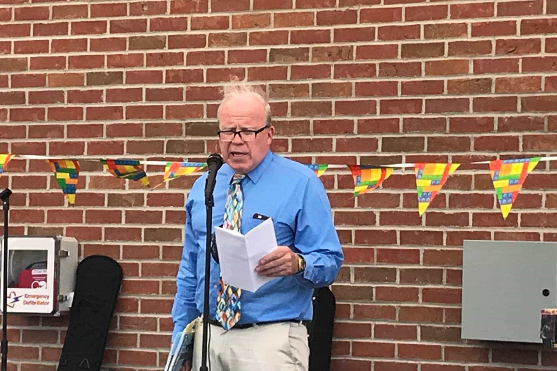 City of Buckhannon Mayor's remarks at  Buckhannon Pride event at Jawbone Park