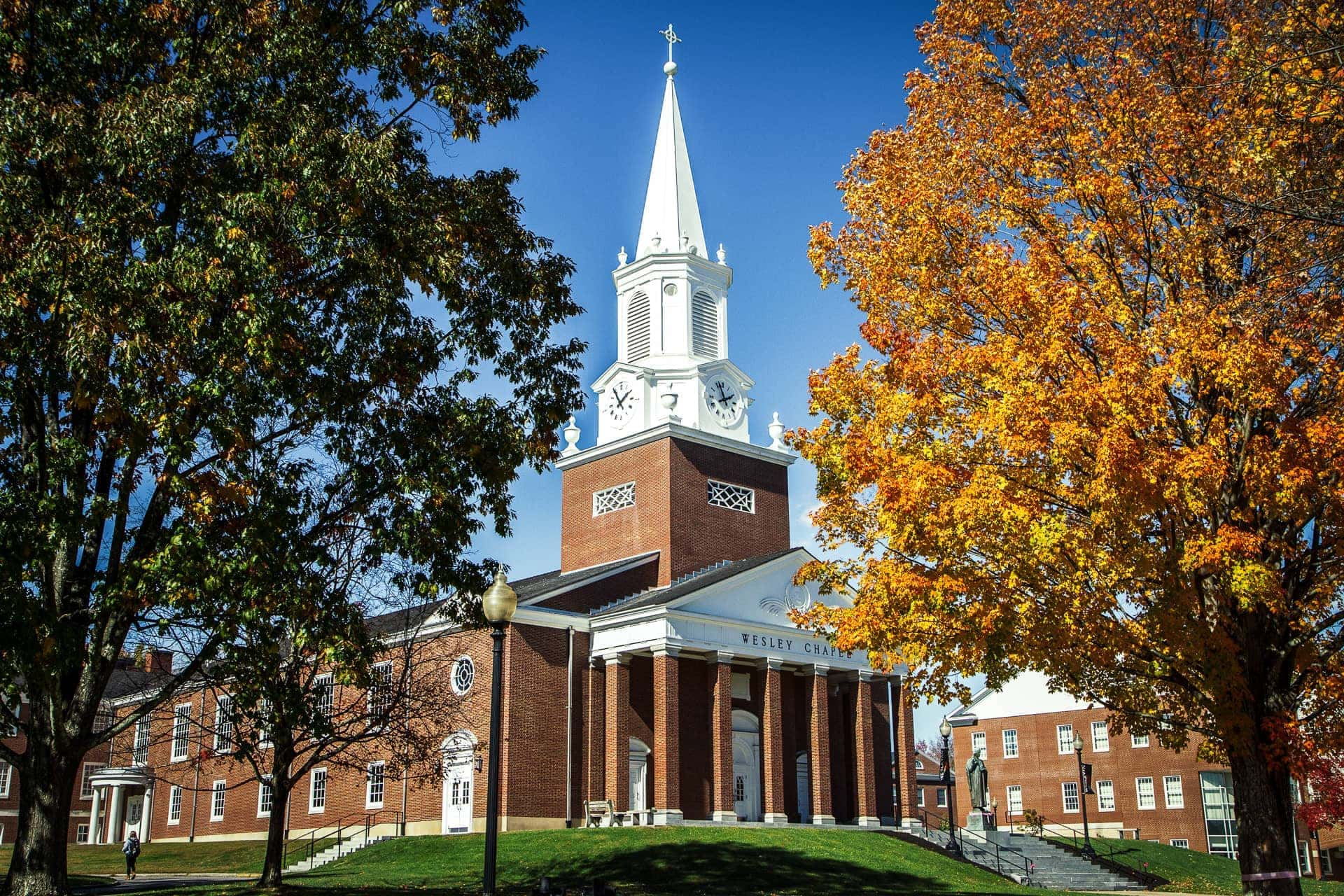 Orange-and-black and 'way back when': Wesleyan alumni share memories of their years in Buckhannon