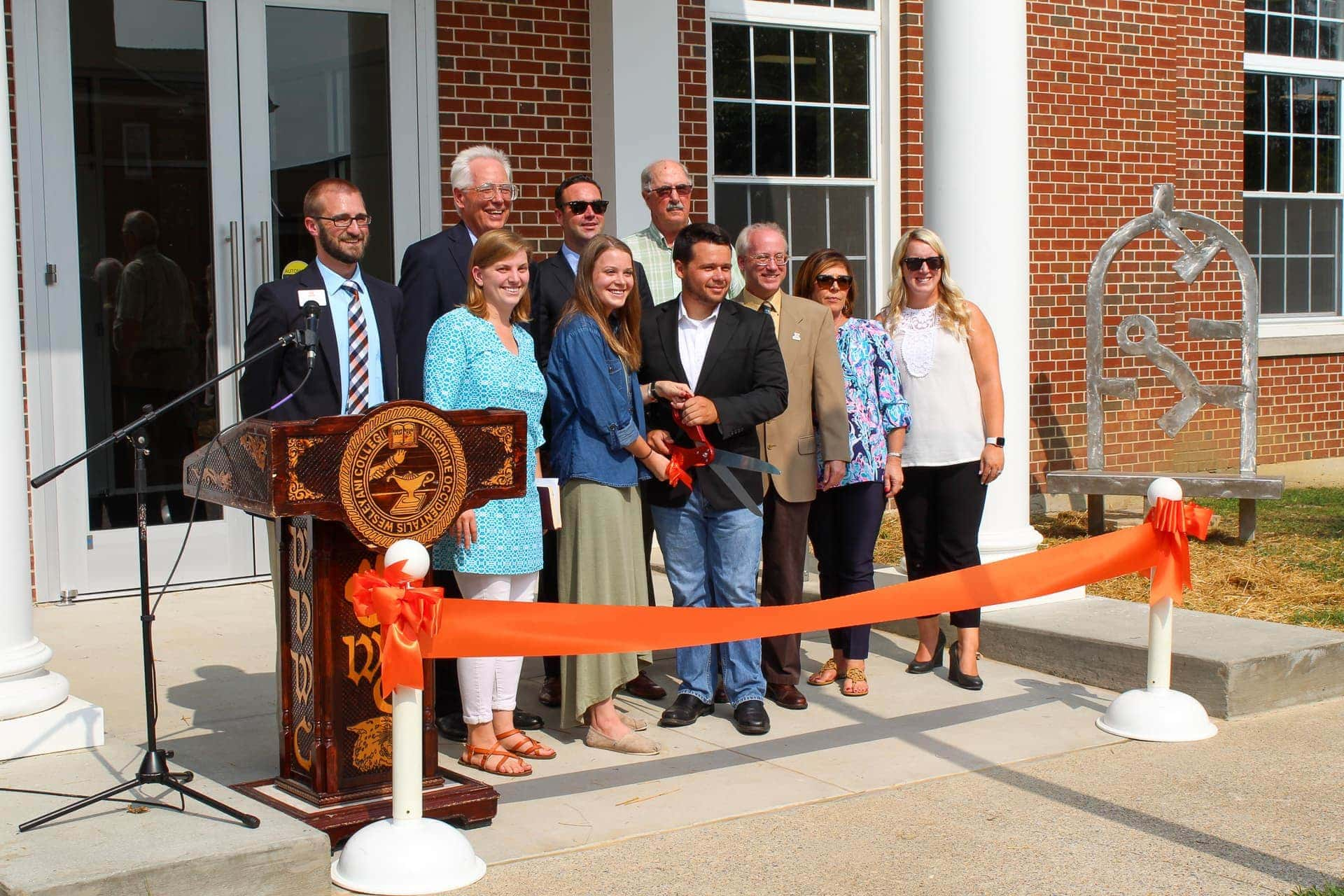 Renovated WVWC library mixes modern conveniences with classic features