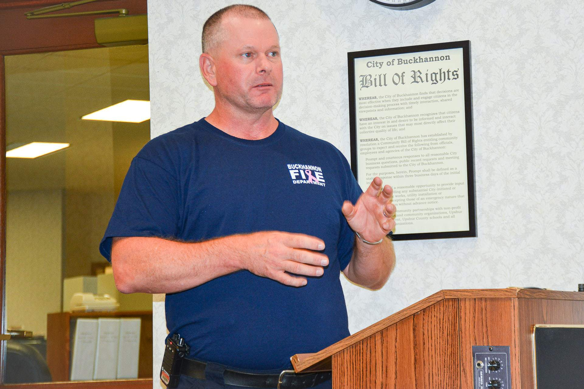 Chief asks council to pay volunteers a stipend rather than hire part-time firefighter
