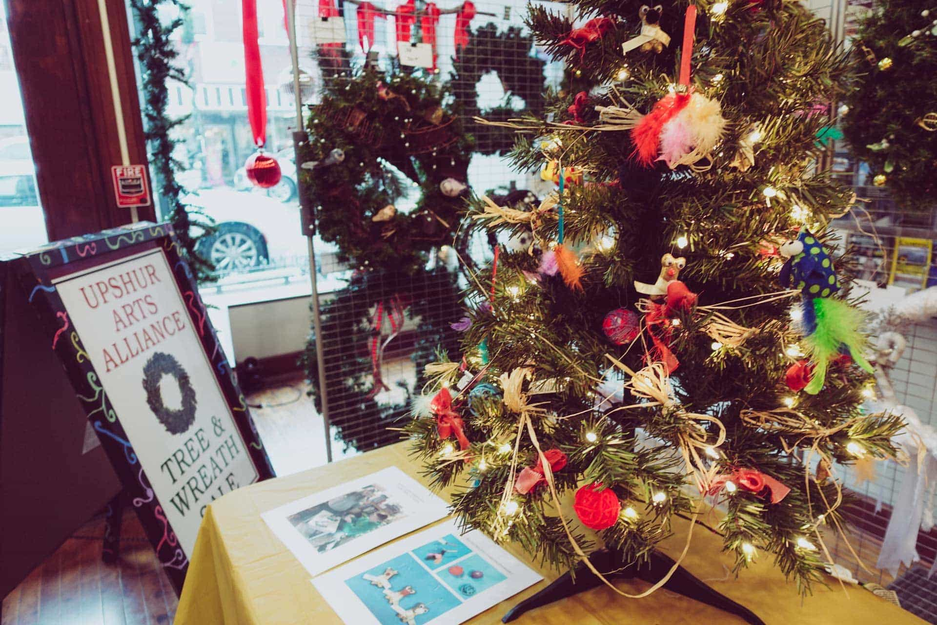 Last chance to support the arts and pick up some festive handcrafted holiday décor