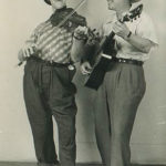 "Oscar Quiddlemurp (William ""Dusty"" Shaver) and Hank the Cowhand (David Stanford)"