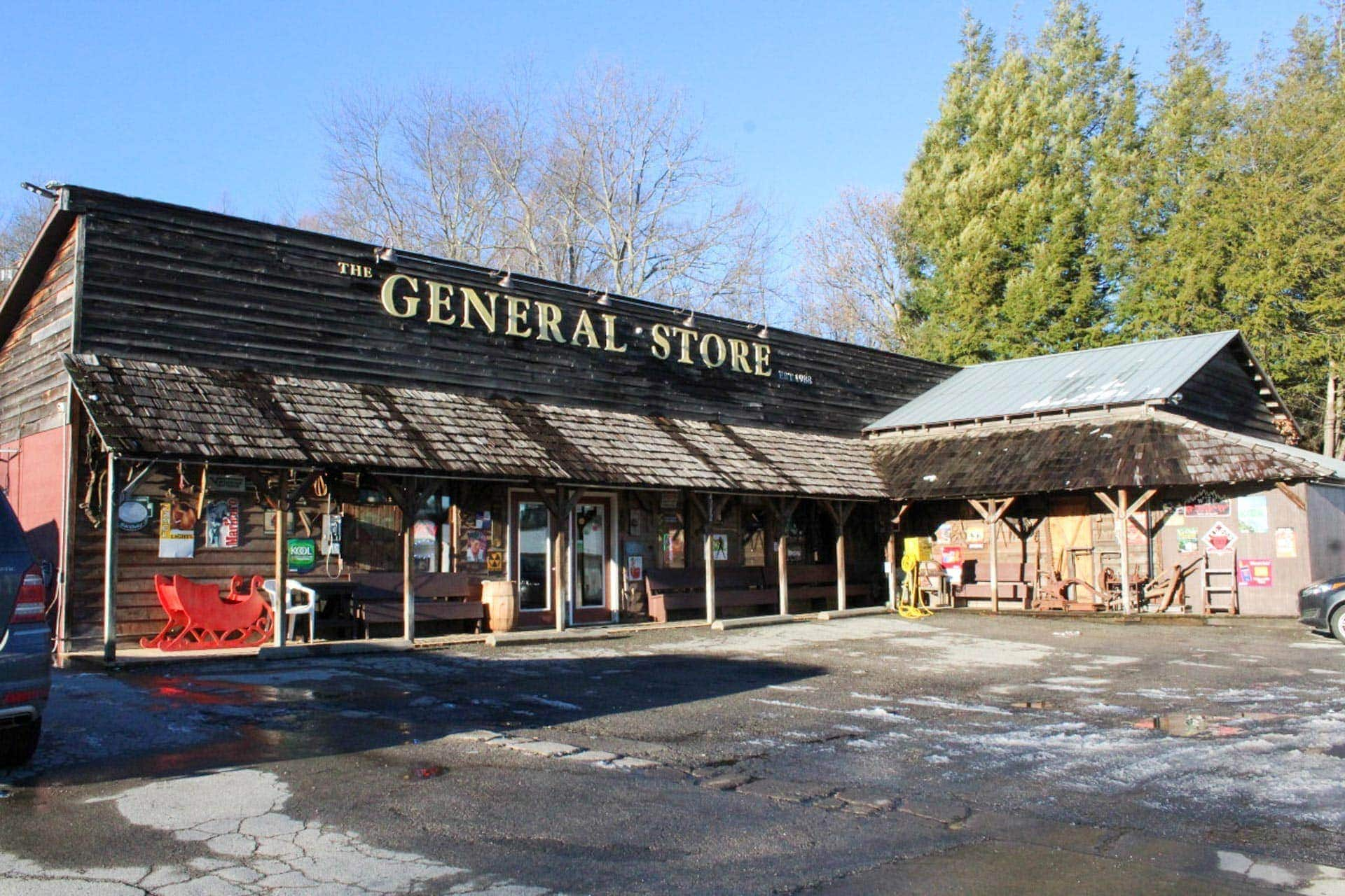 Hinkleville general store reopens as The George's General Store