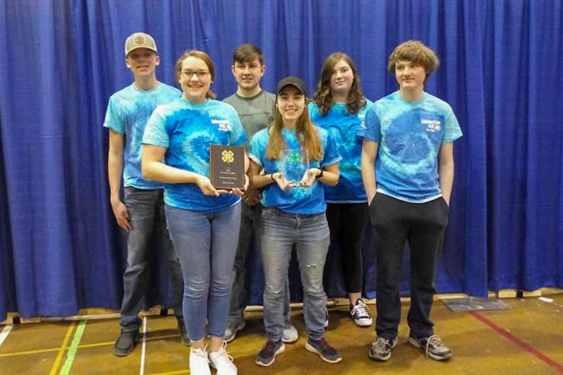 Right on target: Upshur County's senior air rifle team takes top spot in state tourney