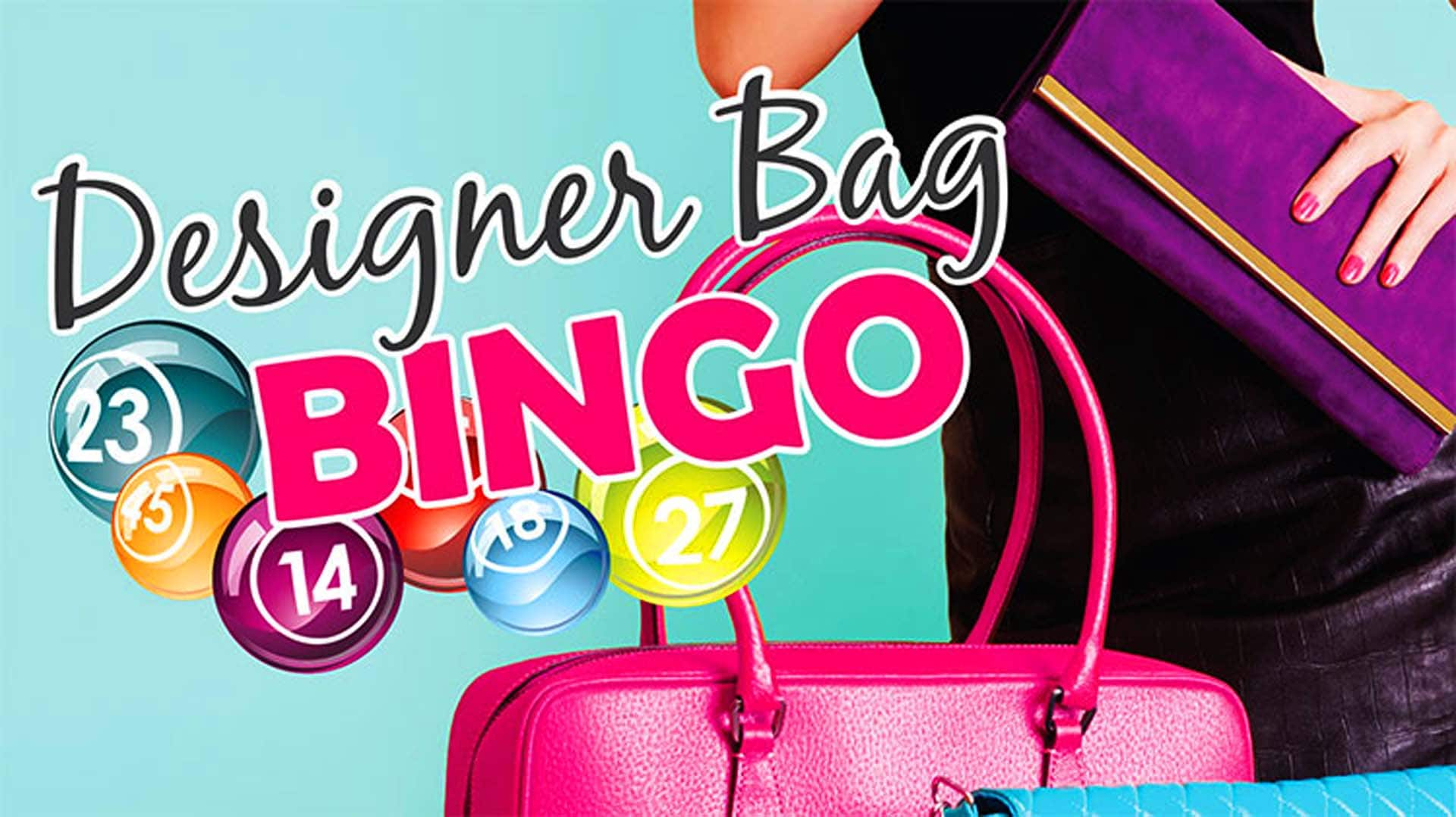 Over $7,000 in great purses up for grabs at Designer Bag Bingo on March 8