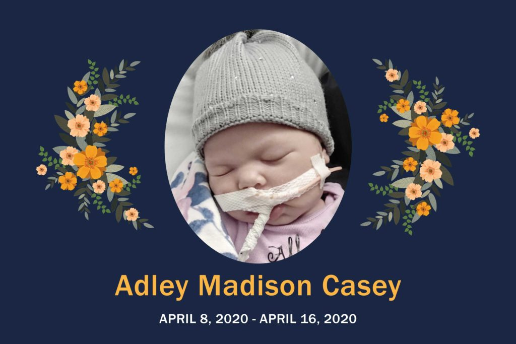 Obituary Adley Casey