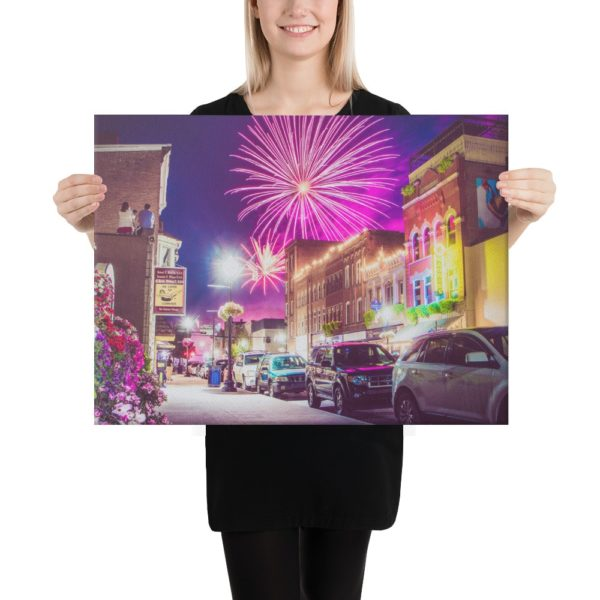 Main Street America – Canvas Print