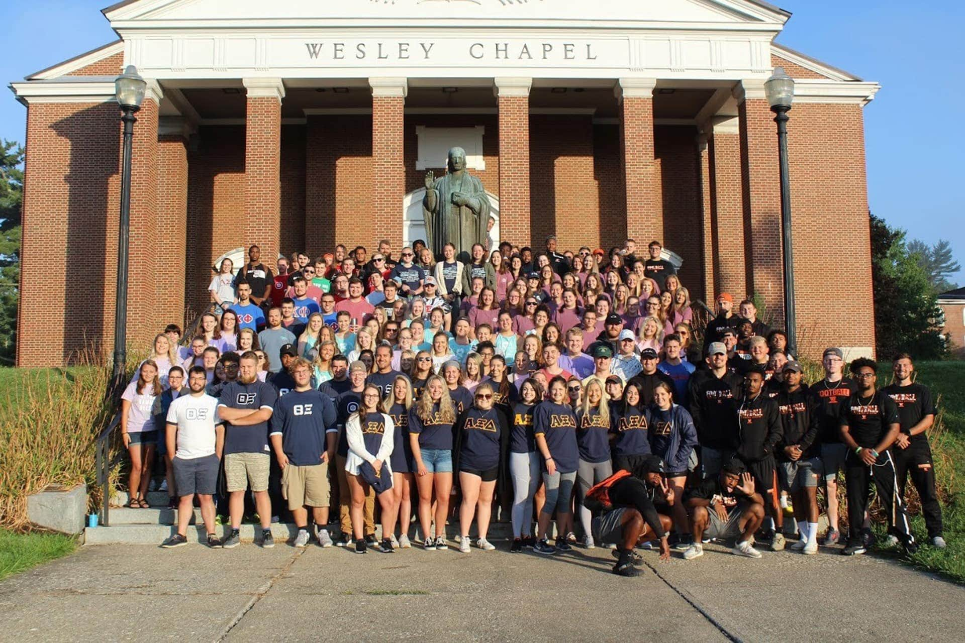 Wesleyan Greek Graduates Prepare for Next Chapter in Their Lives