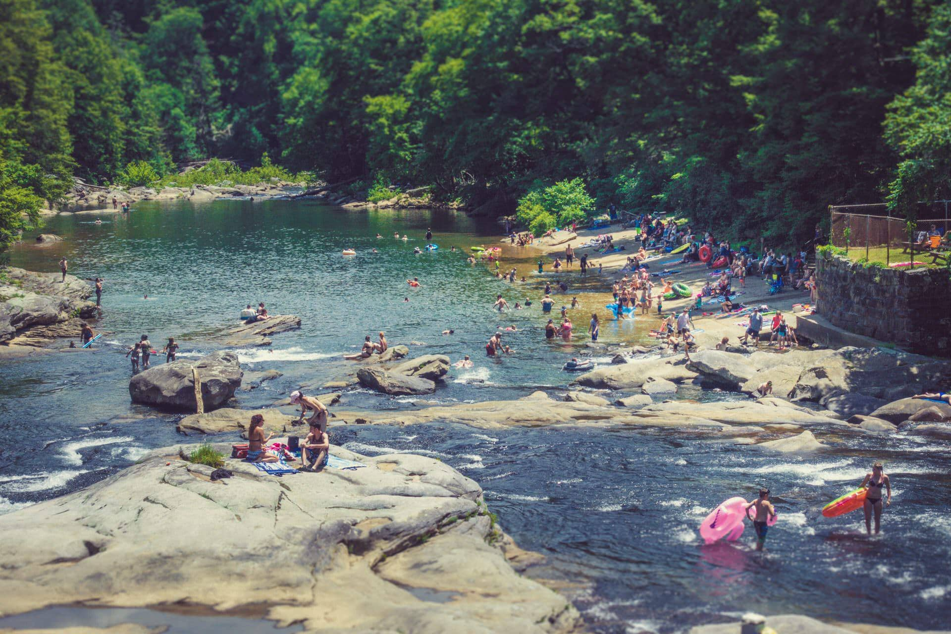 Swimming hole secrets: Beat the heat the West Virginia way