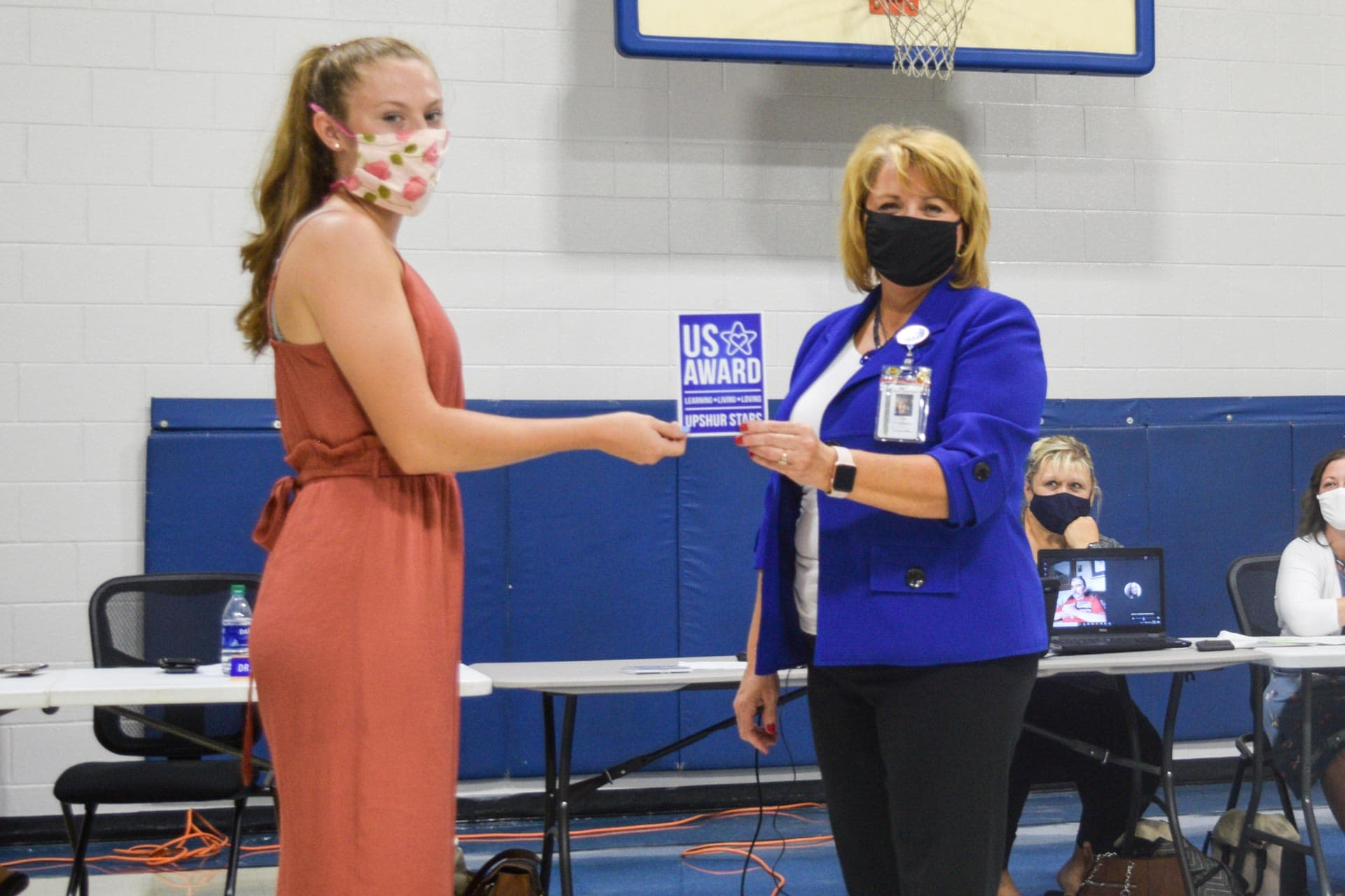 BOE thanks student who consistently helps with countywide meal delivery