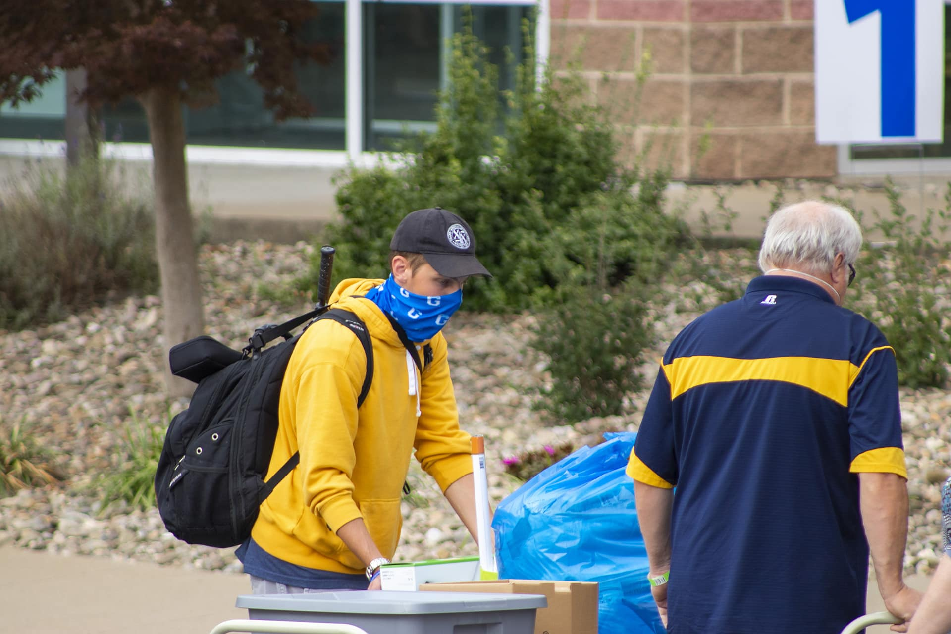 Glenville State College Students Arriving on Campus for Fall Semester