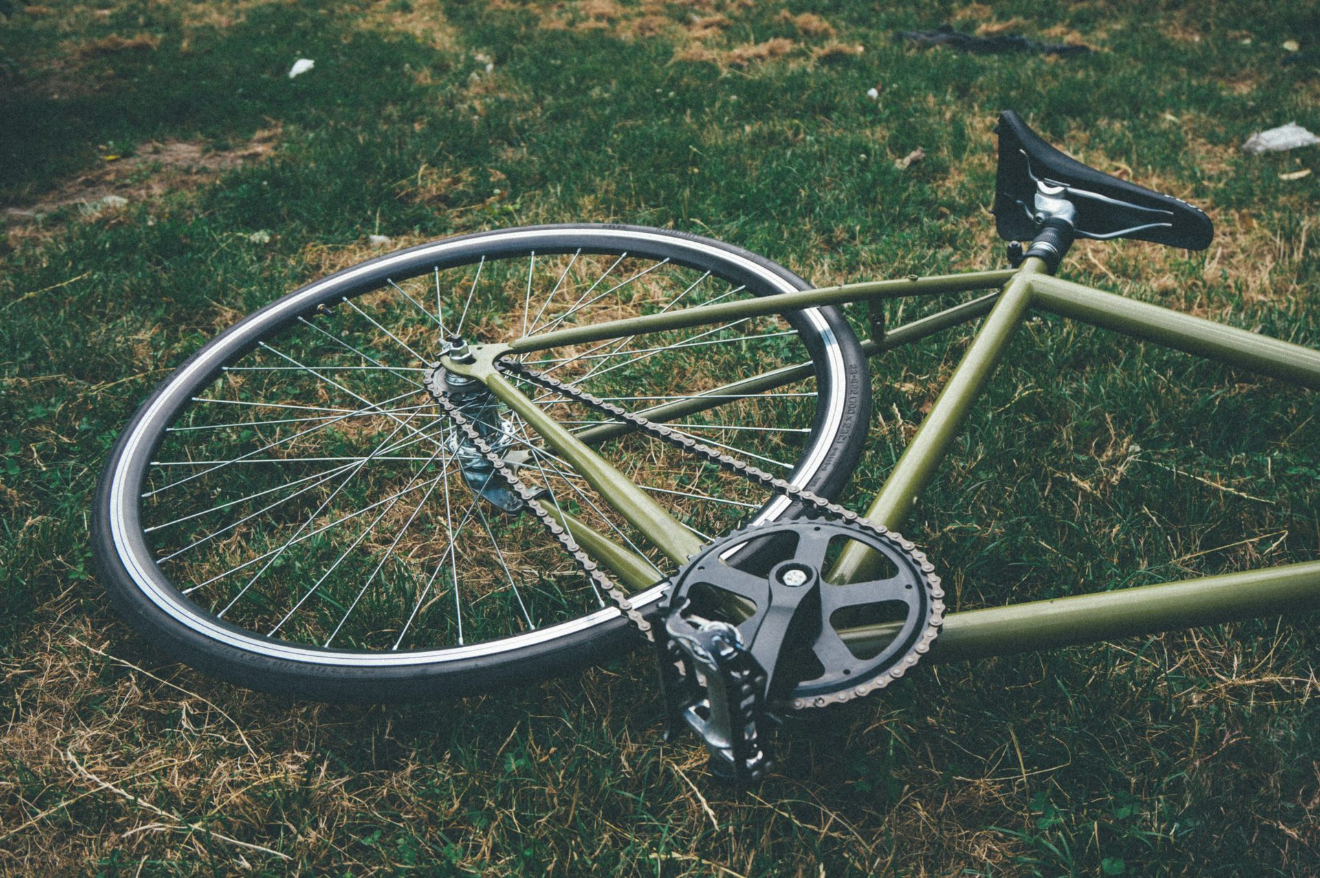 Cyclist suffers minor injuries after being clipped by vehicle Saturday