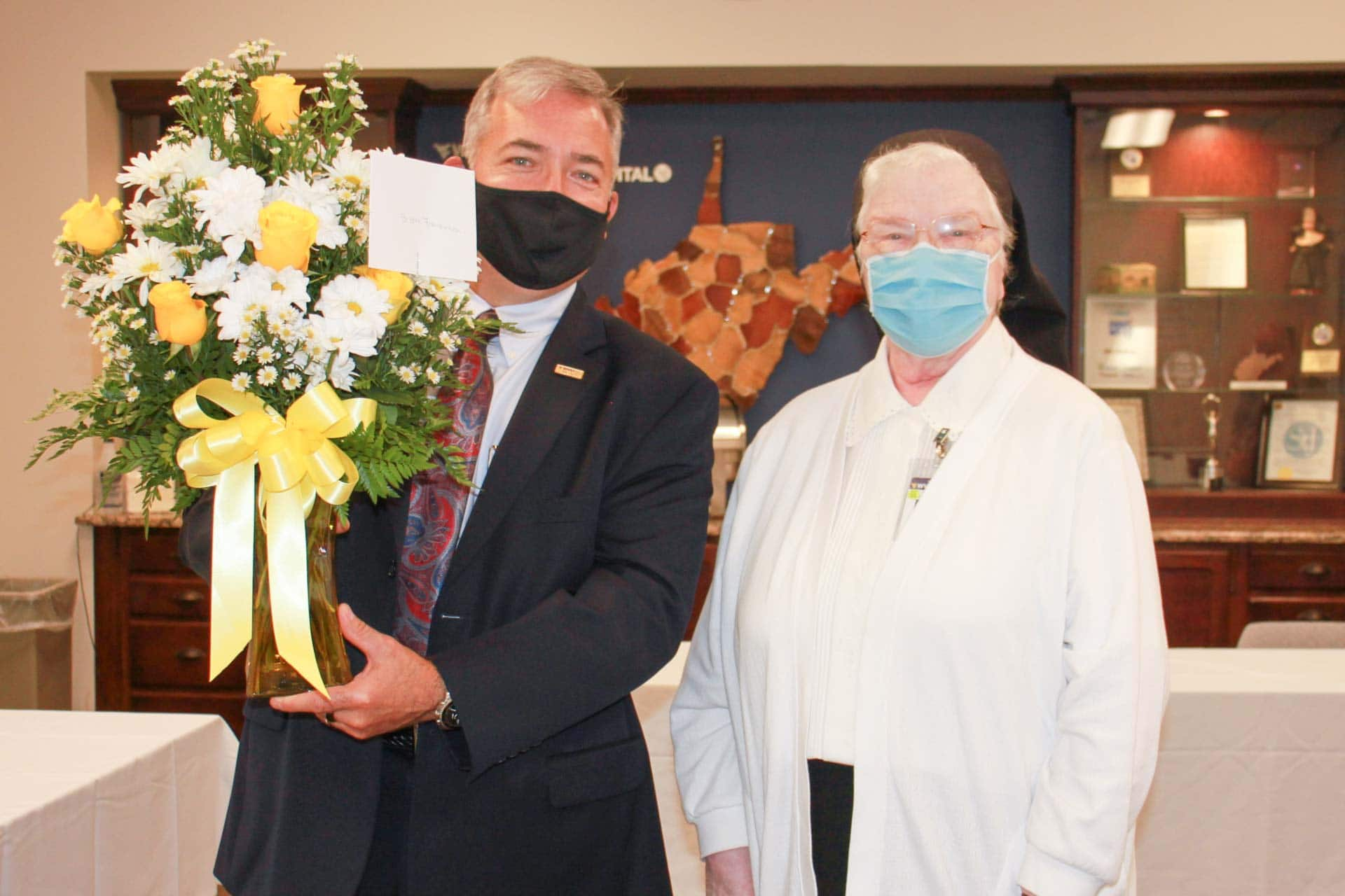 St. Joseph's Hospital honors Sister Francesca Lowis, SAC on her 60th Jubilee