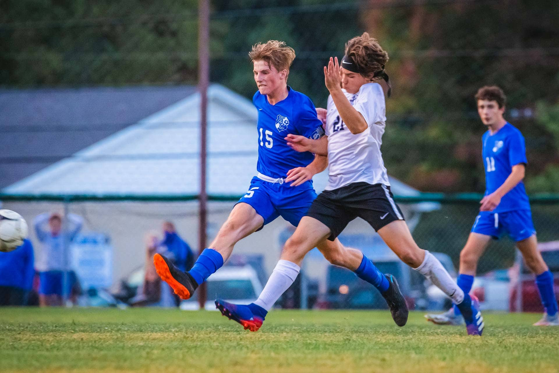 Sports Gallery: Soccer Bucs drop tight 1-0 decision after spirited match with Fairmont Senior
