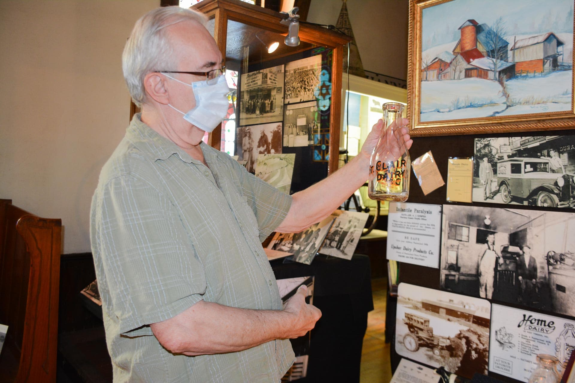 Hungry to learn about the history of food in Upshur County? Head to the History Center Museum