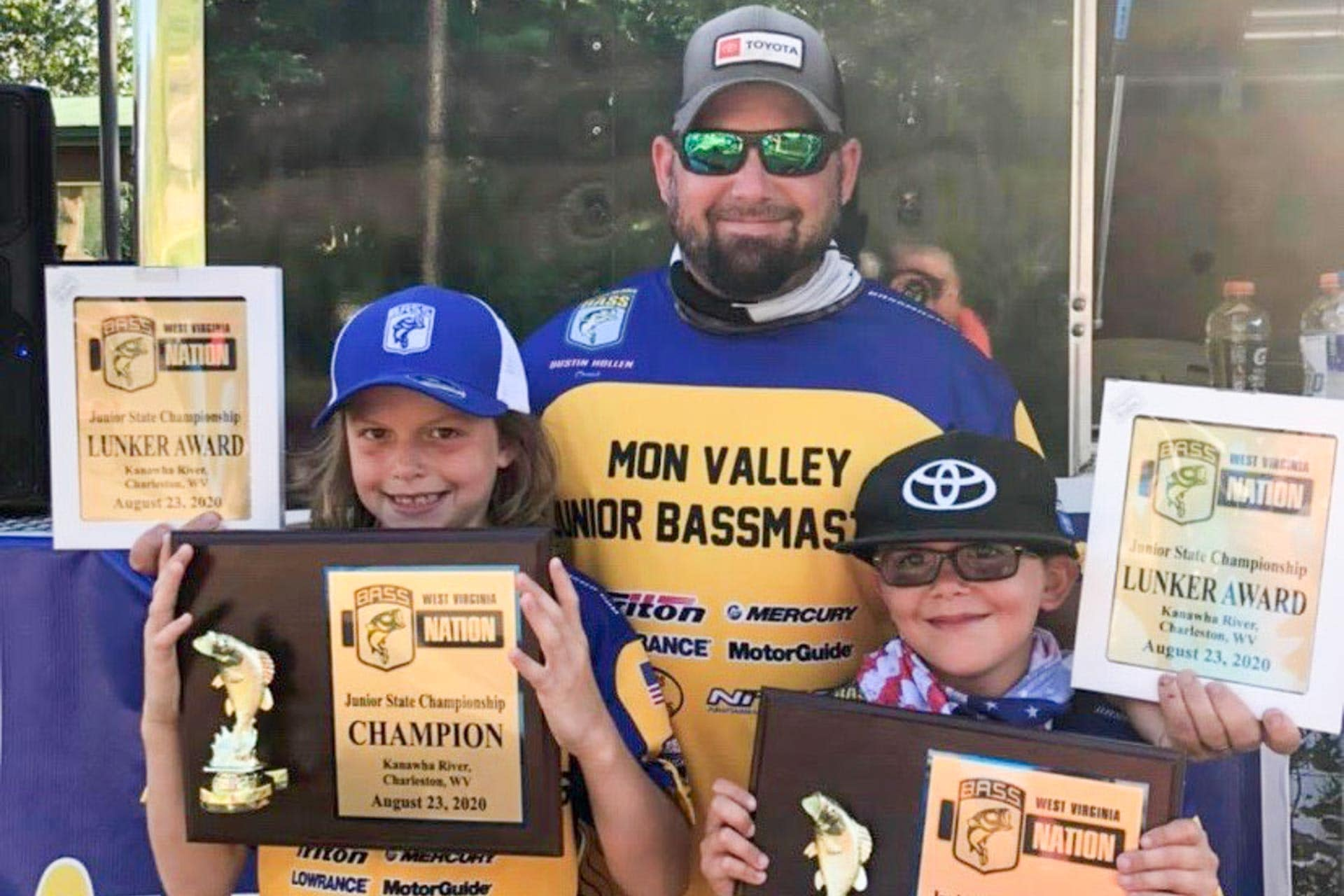 Buckhannon youth reels in state title at 2020 B.A.S.S. Nation Junior Championship