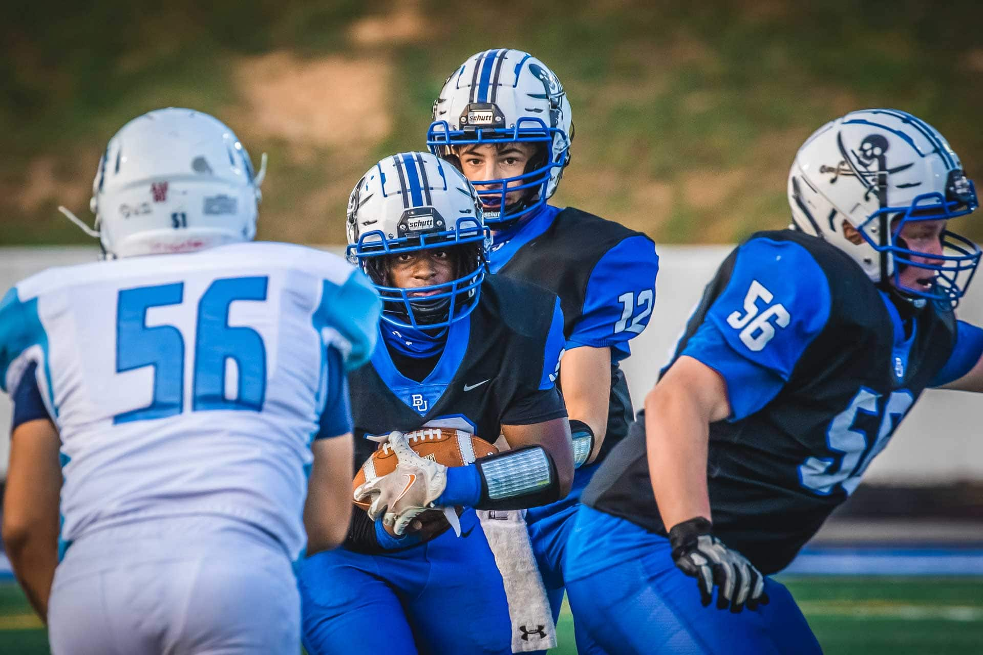 Sports Gallery: Football Bucs top Philip Barbour, 19-10