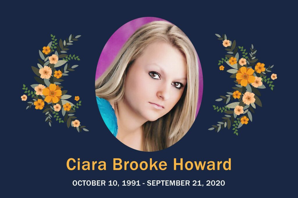 Obituary Ciara Howard
