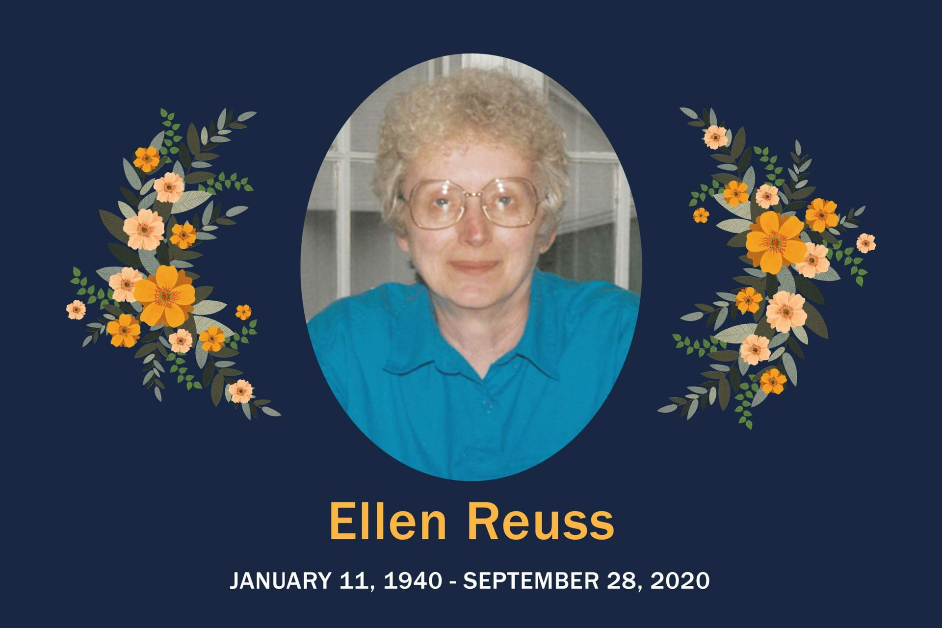 Obituary Ellen Reuss