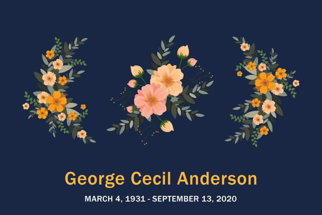Obituary George Anderson