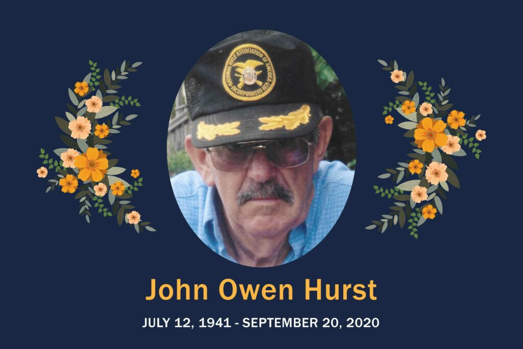 Obituary John Hurst