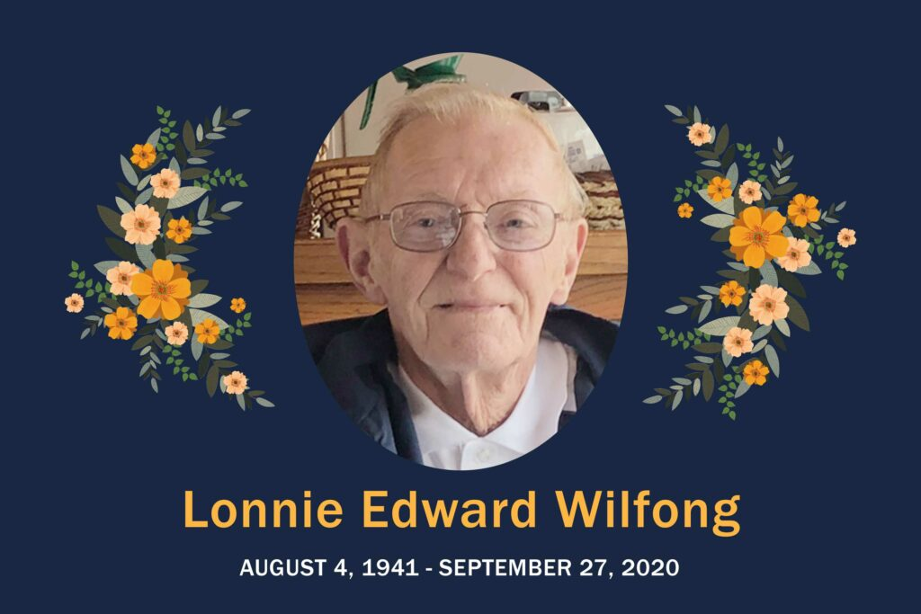 Obituary Lonnie Wilfong