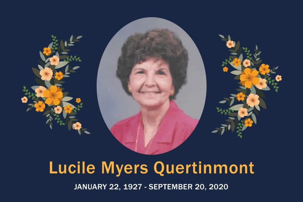 Obituary Lucile Quertinmont