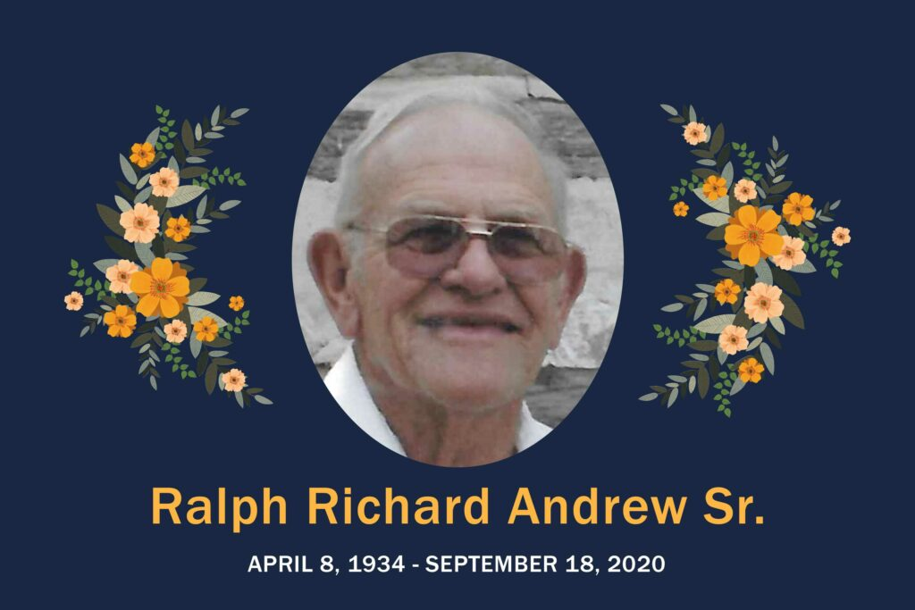 Obituary Ralph Andrew