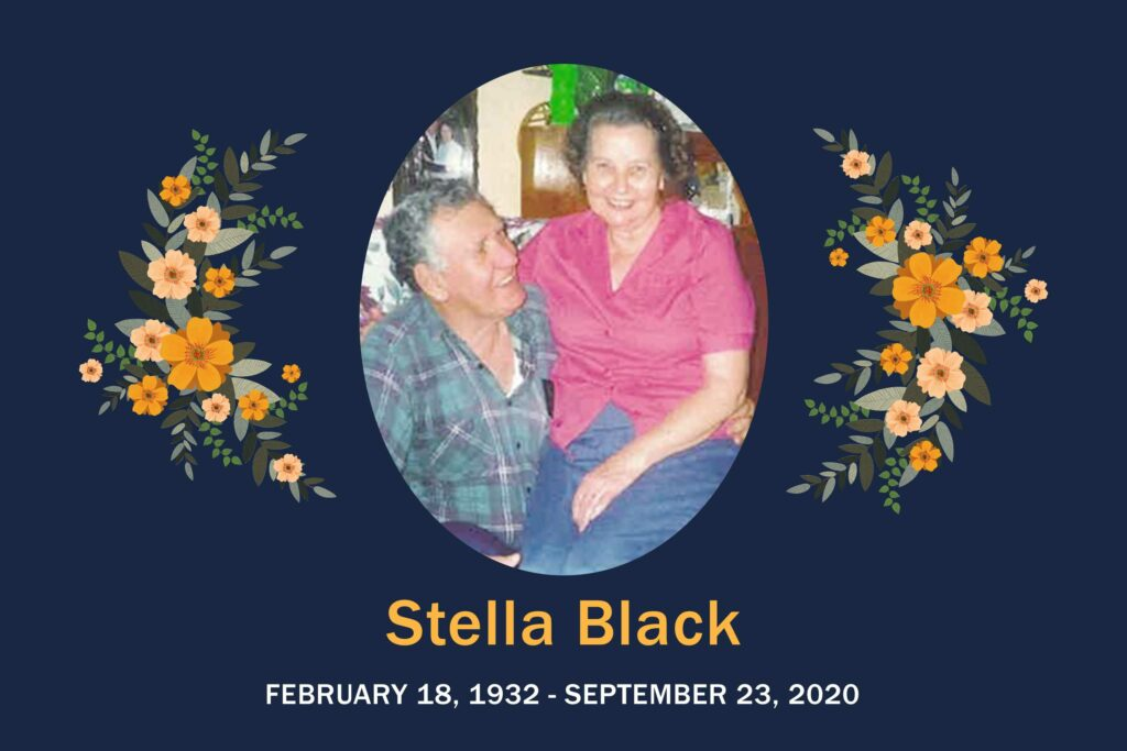 Obituary Stella Black