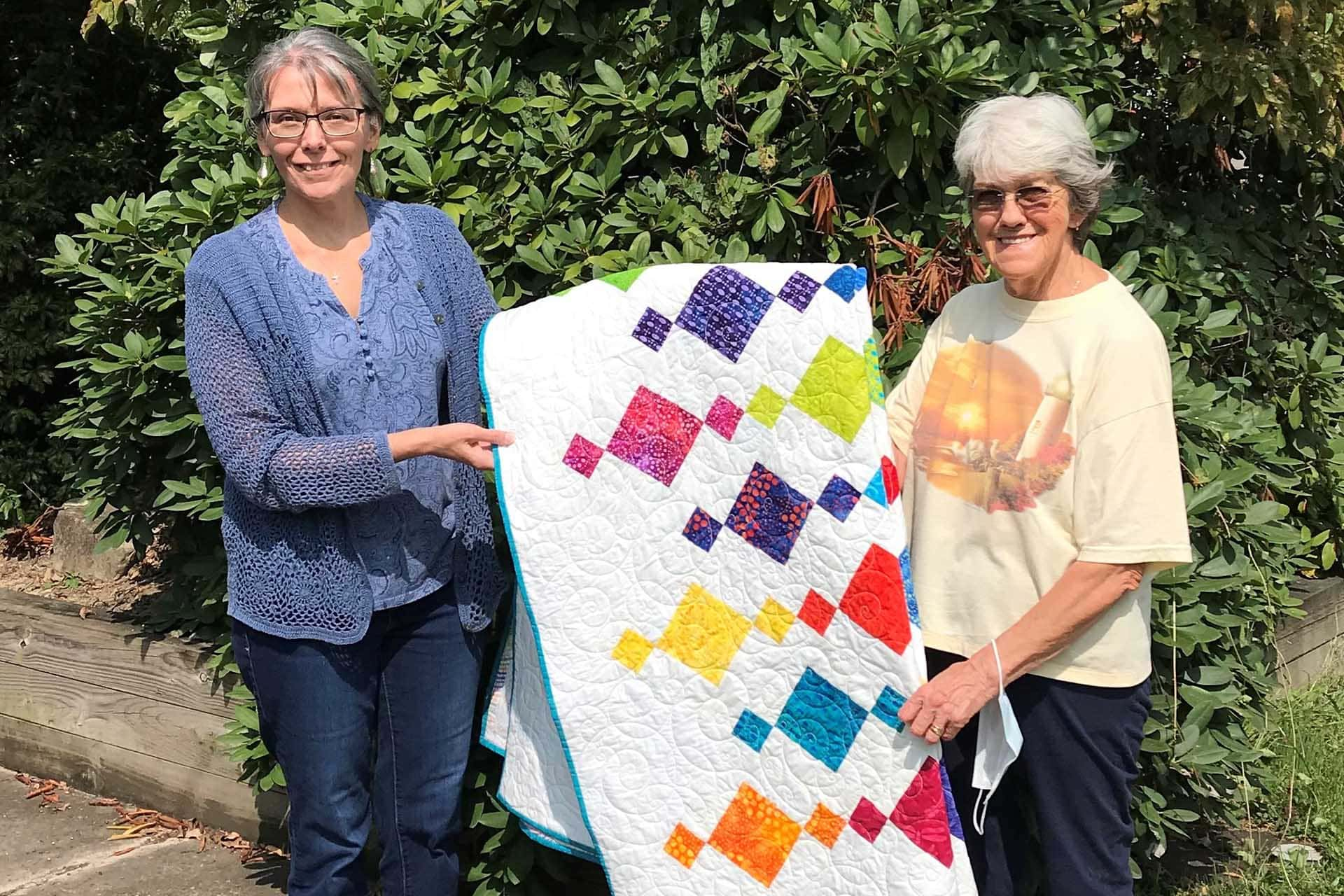 Quilters at Heart Quilt Guild raises $1,000 for Celebrate Recovery