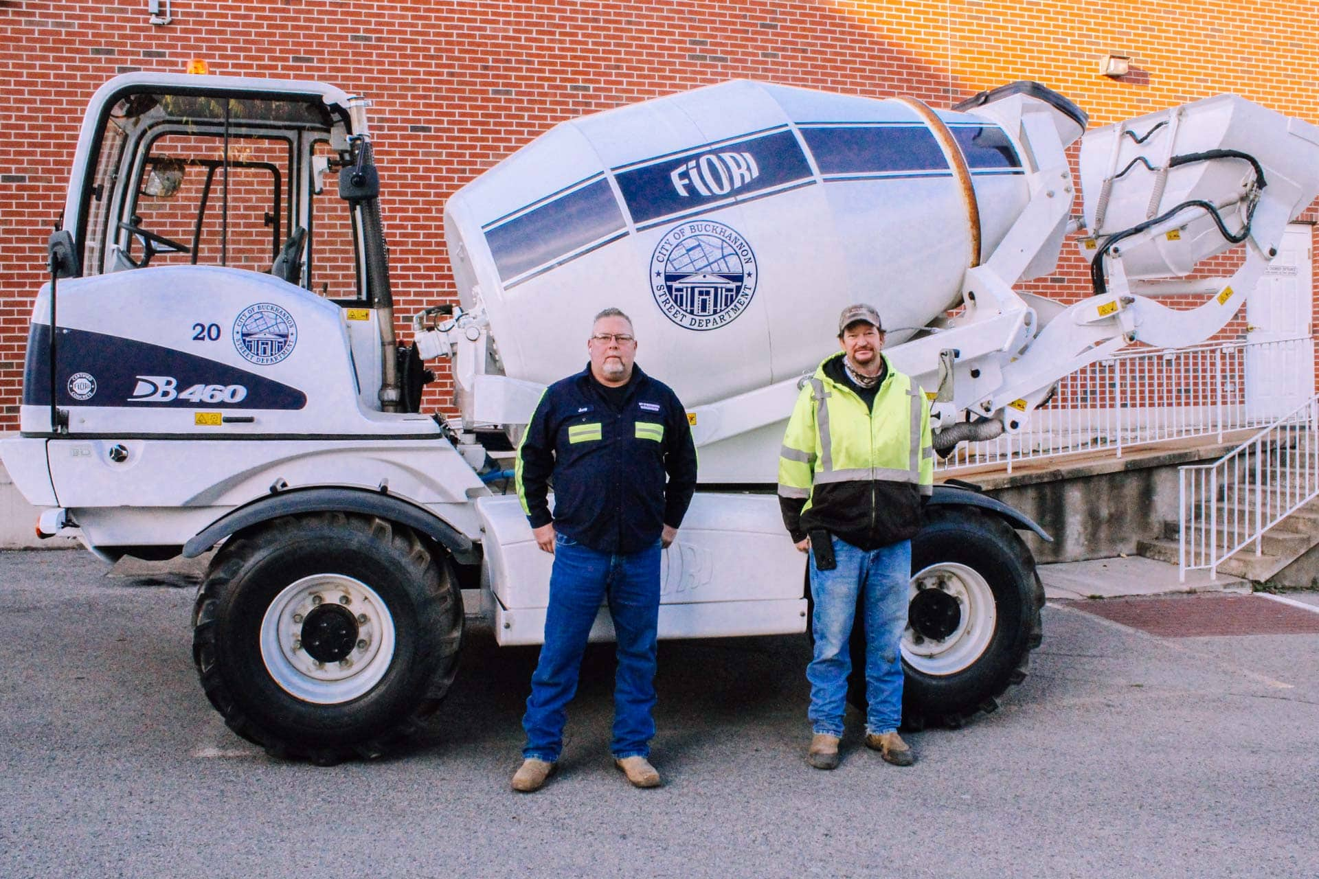 City's new concrete mixer will allow projects to be completed faster and cheaper
