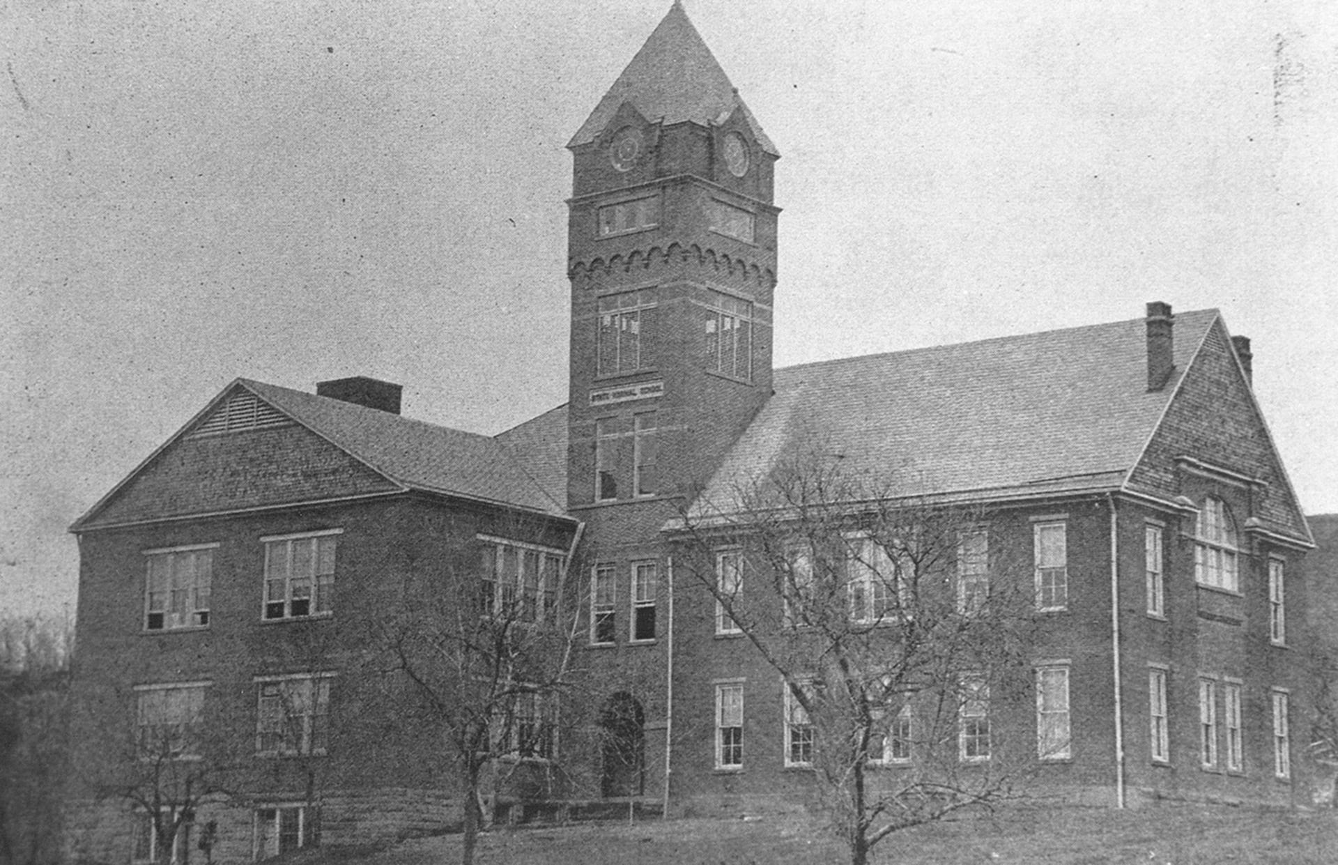 Iconic Glenville State College Clock Tower Still Beckons Pioneers Home