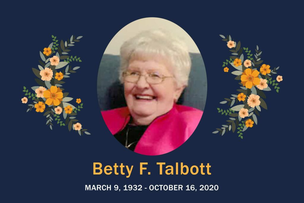 Obituary Betty Talbott