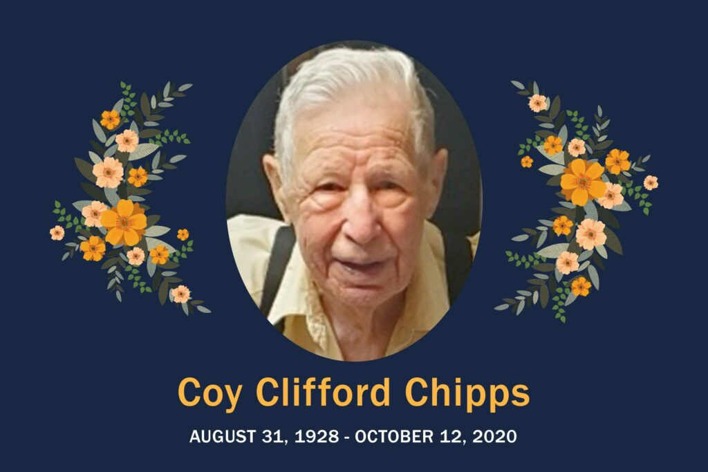Obituary Coy Chipps