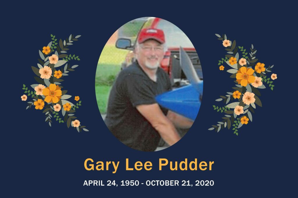 Obituary Gary Pudder