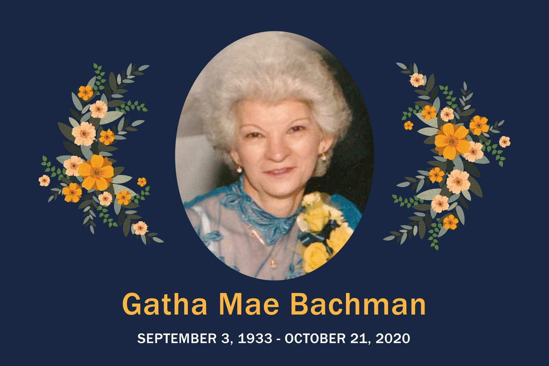 Obituary Gatha Bachman