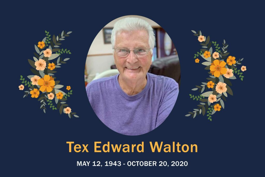 Obituary Tex Walton