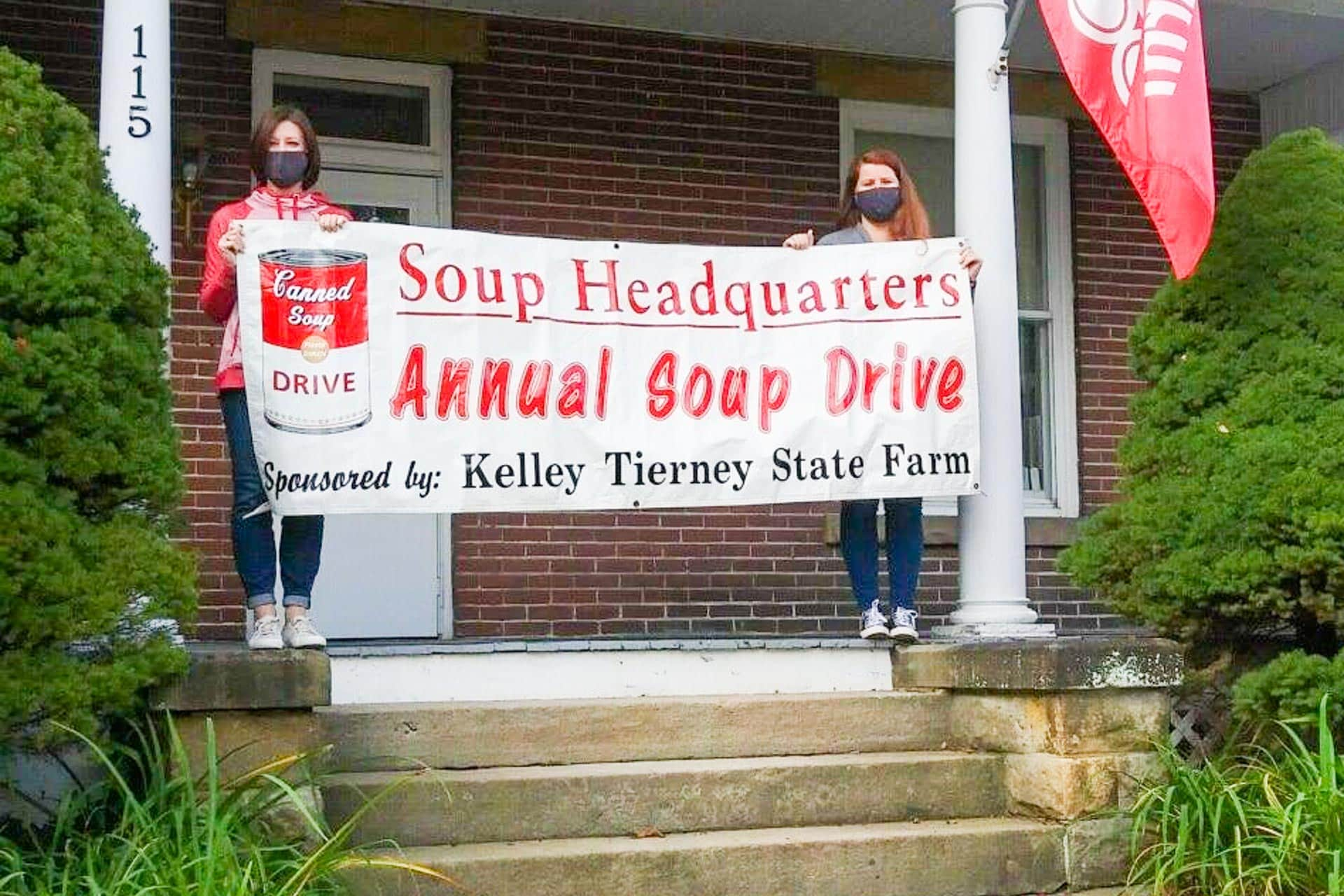 Can you spare a can of soup? Kelley Tierney State Farm aims to collect 4,000 cans by October's end