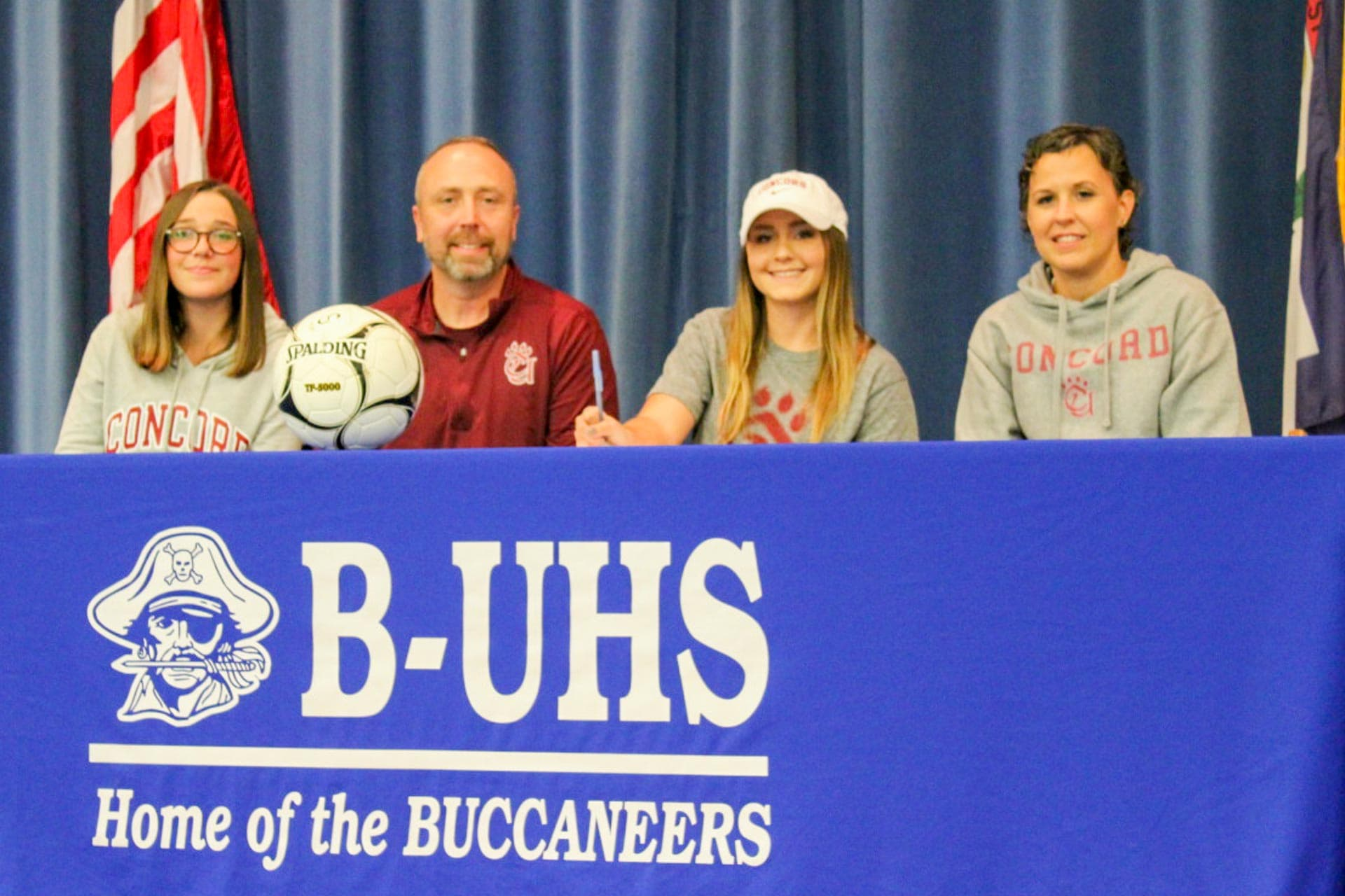 Four soccer Buccaneers sign on to play at collegiate level