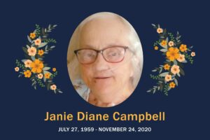 Obituary Janie Campbell