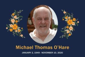 Obituary Michael Ohare