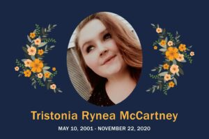 Obituary Tristonia McCartney